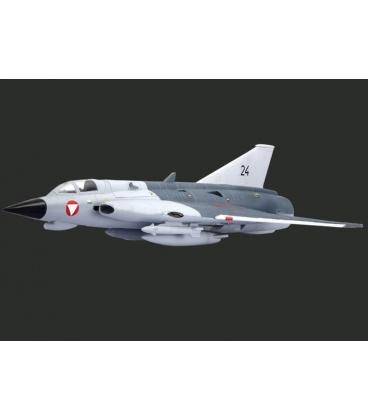 SAAB J-35 DRAKEN Grigio/Nero Completo
