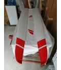 Zefiros Valenta 4,2mt D-Box Carbon Bianco bande rosse