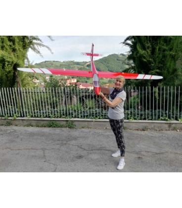 Valenta Blanik L-213 Scala 1:5 Rosso Nuova versione