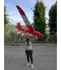 Blanik L-213 Scala 1:5 Rosso Nuova versione