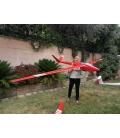 Valenta H101 Salto 4,5mt D-Box Carbon Rosso Bande Bianche
