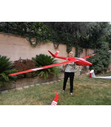 Valenta H101 Salto 4,2mt D-Box Carbon Winglets Rosso Bande Bianche