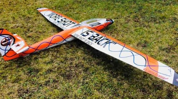 BLANIK L-213 Valenta Scala 1:5 REALIZZATO DA PAOLO